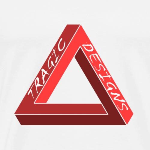 Tragic Designs co. Original logo - Men's Premium T-Shirt
