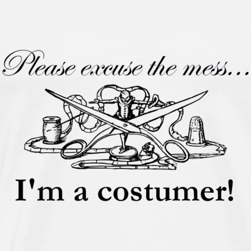 I'm a costumer! - Men's Premium T-Shirt