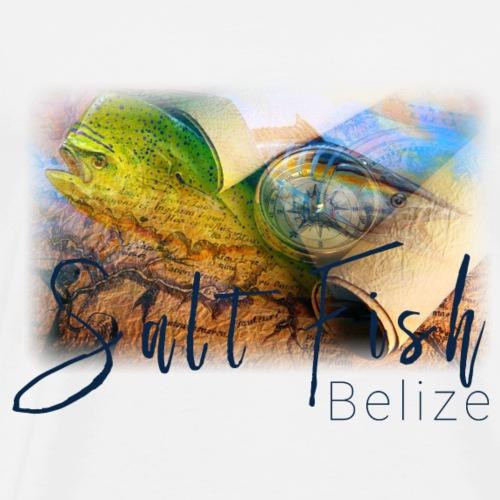 Belize salt life - Men's Premium T-Shirt