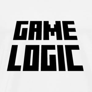 Game Logic Logo - Men's Premium T-Shirt