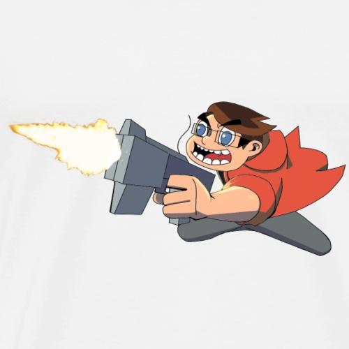 Funnerdiction Shoot em up - Men's Premium T-Shirt