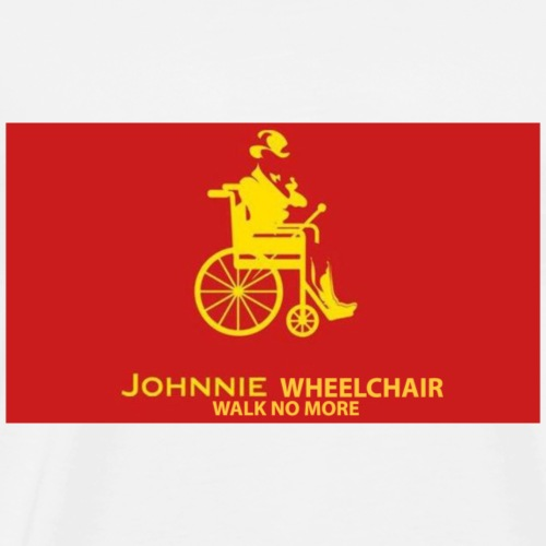 Jhonny Wheelchair - Men's Premium T-Shirt
