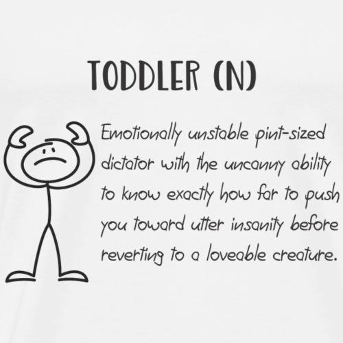 Toddler (N) - Men's Premium T-Shirt