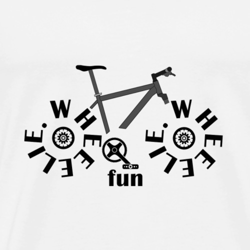 wheeelie - Men's Premium T-Shirt