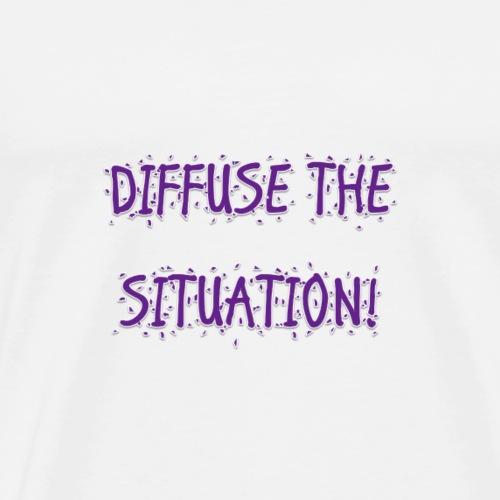 DIFFUSE PURPLE - Men's Premium T-Shirt