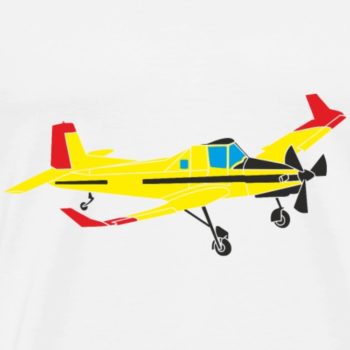 turbo cmelak Pilot - Men's Premium T-Shirt