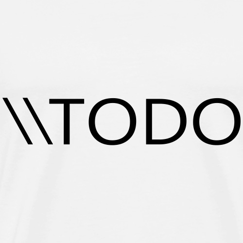 TODO - Men's Premium T-Shirt