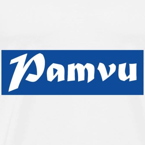 PamvuBlue - Men's Premium T-Shirt