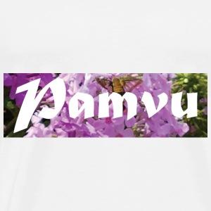 PamvuPinkFlowerPollinate - Men's Premium T-Shirt