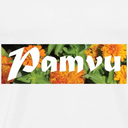 PamvuOrangeflower2 - Men's Premium T-Shirt