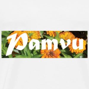 PamvuOrangeflower - Men's Premium T-Shirt