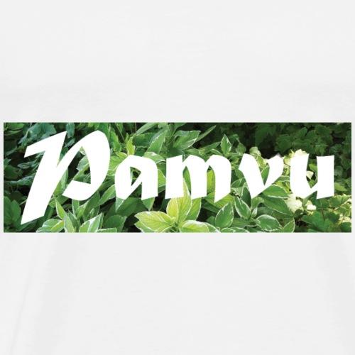 PamvuGreenleaves2 - Men's Premium T-Shirt