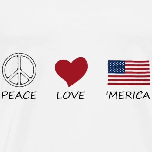 peace love45 - Men's Premium T-Shirt