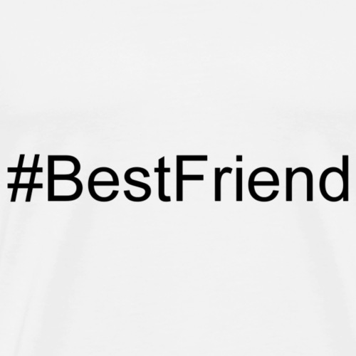 #BestFriend - Men's Premium T-Shirt