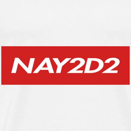Nay2D2 Logo - Men's Premium T-Shirt