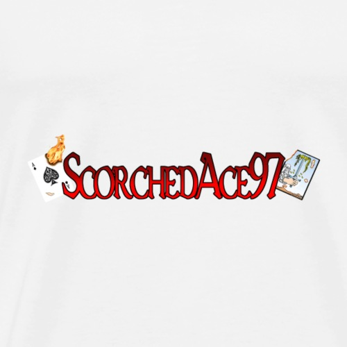 ScorchedAce Words - Men's Premium T-Shirt