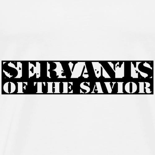 SOS black - Men's Premium T-Shirt