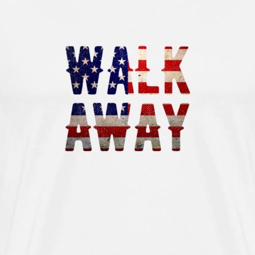 Walk Away Movement #WalkAway 2018 - Men's Premium T-Shirt