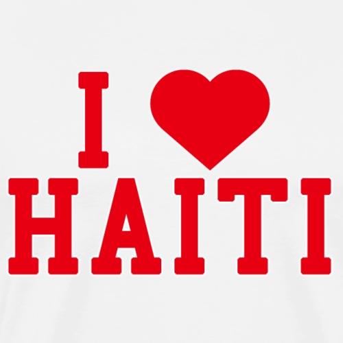 Haiti County Love Home gift idea men Women - Men's Premium T-Shirt