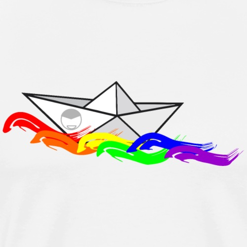rainbow spray - Men's Premium T-Shirt