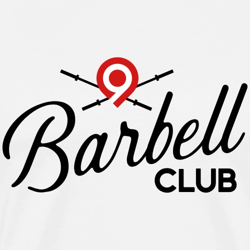 CrossFit9 Barbell Club (Black) - Men's Premium T-Shirt