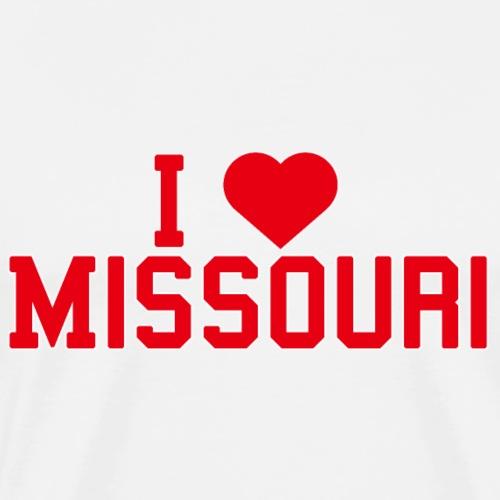 Missouri State Love Home gift idea men Women - Men's Premium T-Shirt