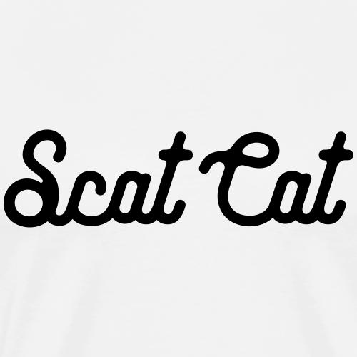 Scat Cat - Men's Premium T-Shirt
