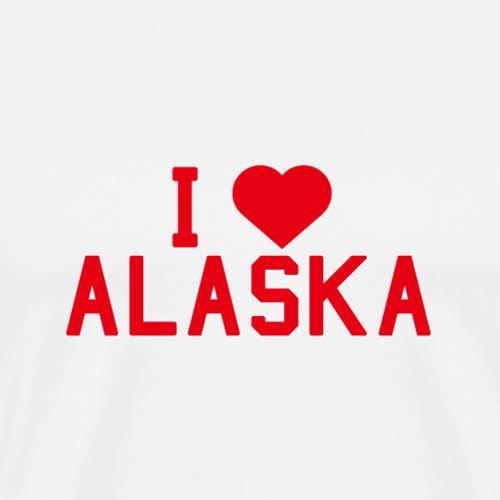 Alaska State Love Home gift idea men Women - Men's Premium T-Shirt