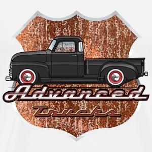 Advance Black Truck - Men's Premium T-Shirt