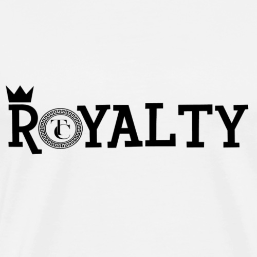Royalty [BLACK] - Men's Premium T-Shirt