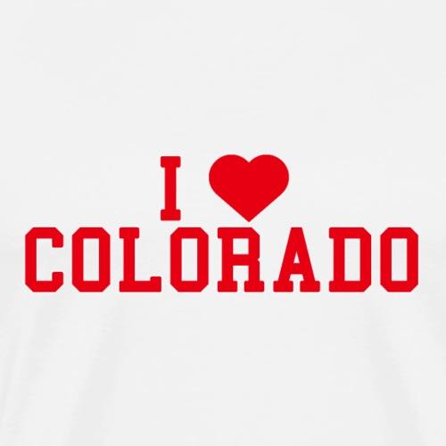 Colorado State Love Home gift idea men Women - Men's Premium T-Shirt