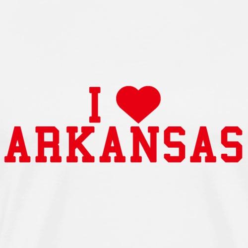 Arkansas State Love Home gift idea men Women - Men's Premium T-Shirt