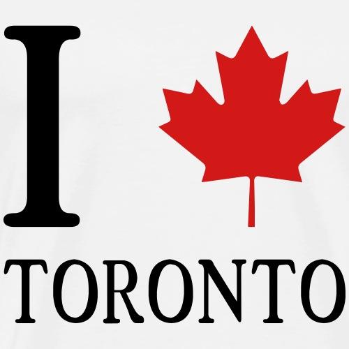I love Toronto - Men's Premium T-Shirt