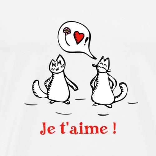 Je t'aime ! - Men's Premium T-Shirt