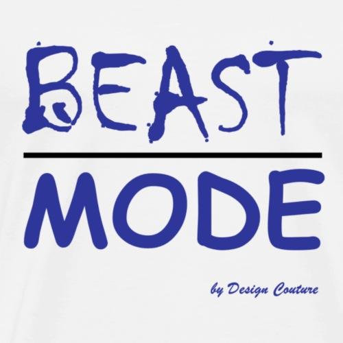 MODE, BEAST-BLUE - Men's Premium T-Shirt
