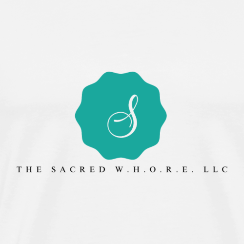 The Sacred W.H.O.R.E. LLC (Logo2) - Men's Premium T-Shirt