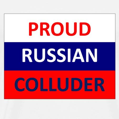 Proud Russian Colluder - Men's Premium T-Shirt