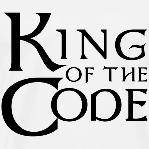 King of the Code - Men's Premium T-Shirt