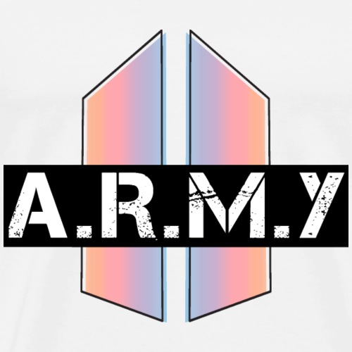 BTS_Army_Logo_Love_Yourself_Graphic - Men's Premium T-Shirt