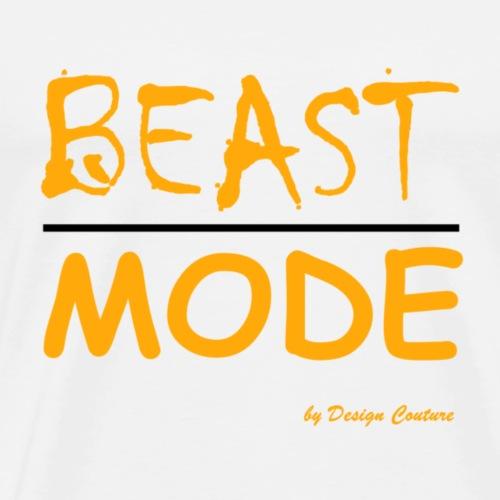 MODE, BEAST-ORANGE - Men's Premium T-Shirt