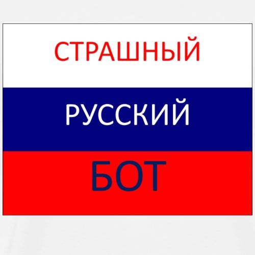 Scary Russian Bot - Men's Premium T-Shirt