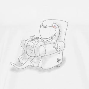 Stoned T-Rex - Men's Premium T-Shirt