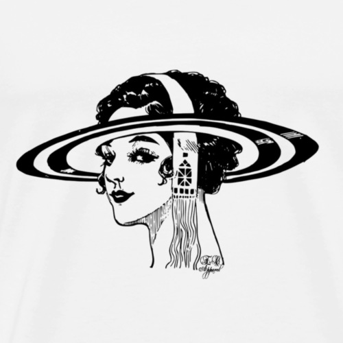 Space Flapper - Men's Premium T-Shirt