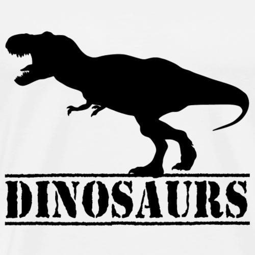 dinosaurs tyrannosaurus rex - Men's Premium T-Shirt