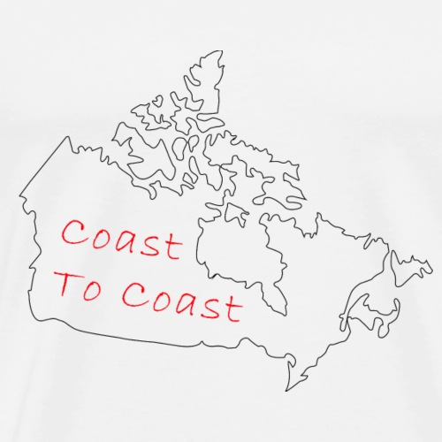 Coast to Coast - Men's Premium T-Shirt