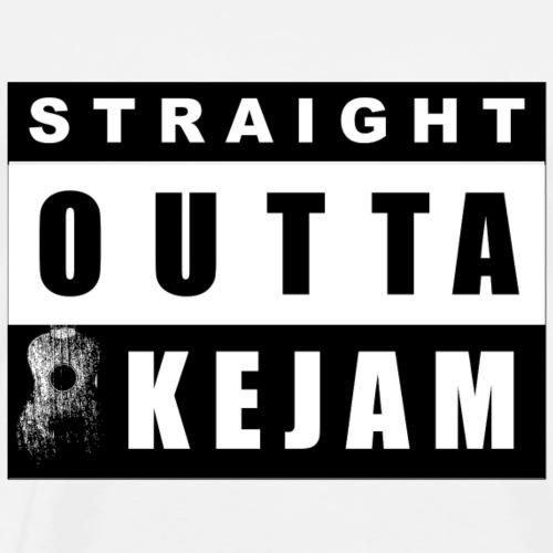 Straight Outta Ukejam - Men's Premium T-Shirt