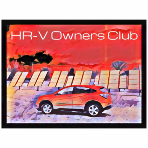 HR-V With Solar Panels (w/ club name) - Men's Premium T-Shirt