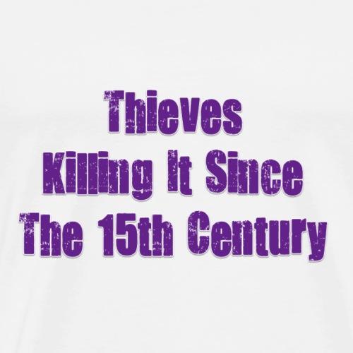 THIEVES PURPLE - Men's Premium T-Shirt