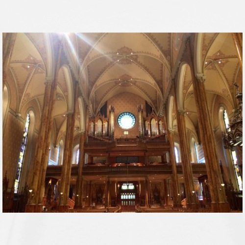 St. Patrick's Church. Montreal. Canada. - Men's Premium T-Shirt