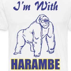 I-m With Harambe - Men's Premium T-Shirt